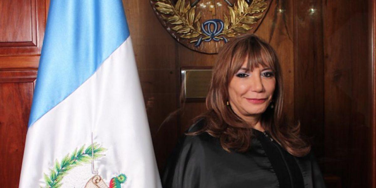 Magistrada Silvia Valdés es la tercera mujer que presidirá la Corte Suprema de Justicia