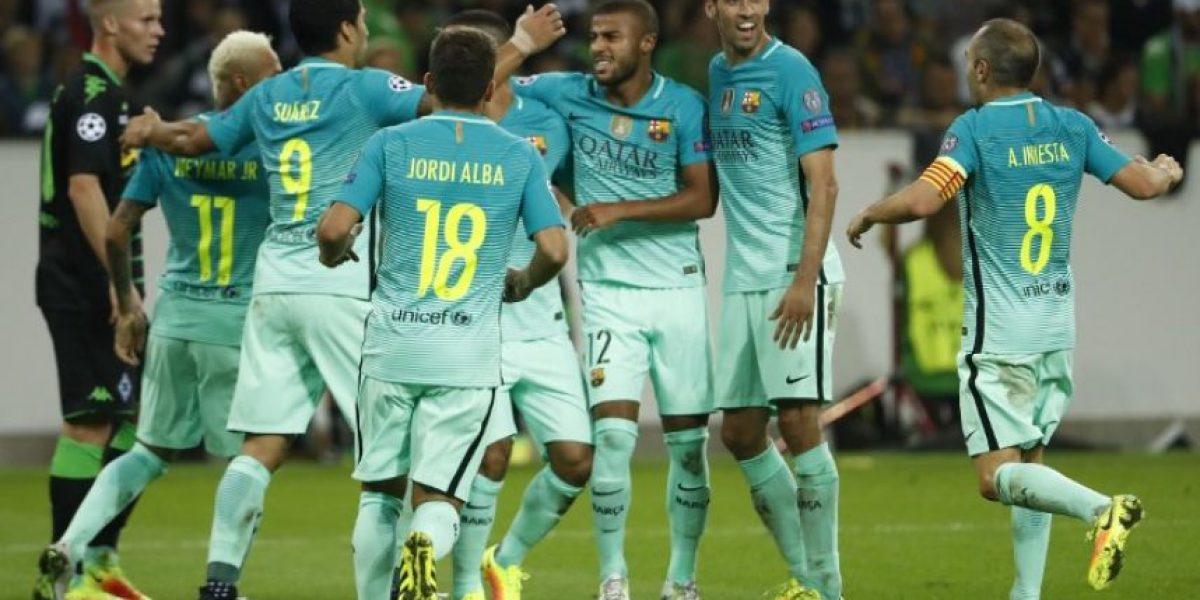 #Champions el Barcelona sufre pero remonta y gana en Alemania