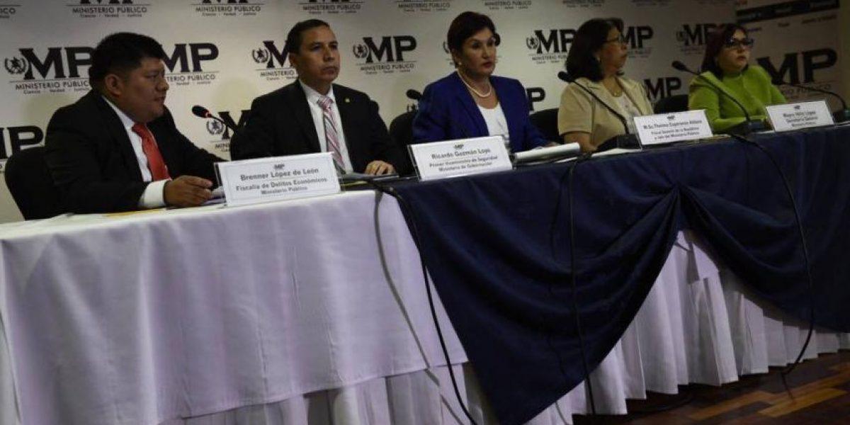 Fiscal General Thelma Aldana responde a señalamientos de Baldetti por el caso