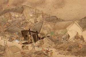 Wikipedia Foto:El terremoto de 1855 en Japón no fue precedido por ninguna Luna Negra.
