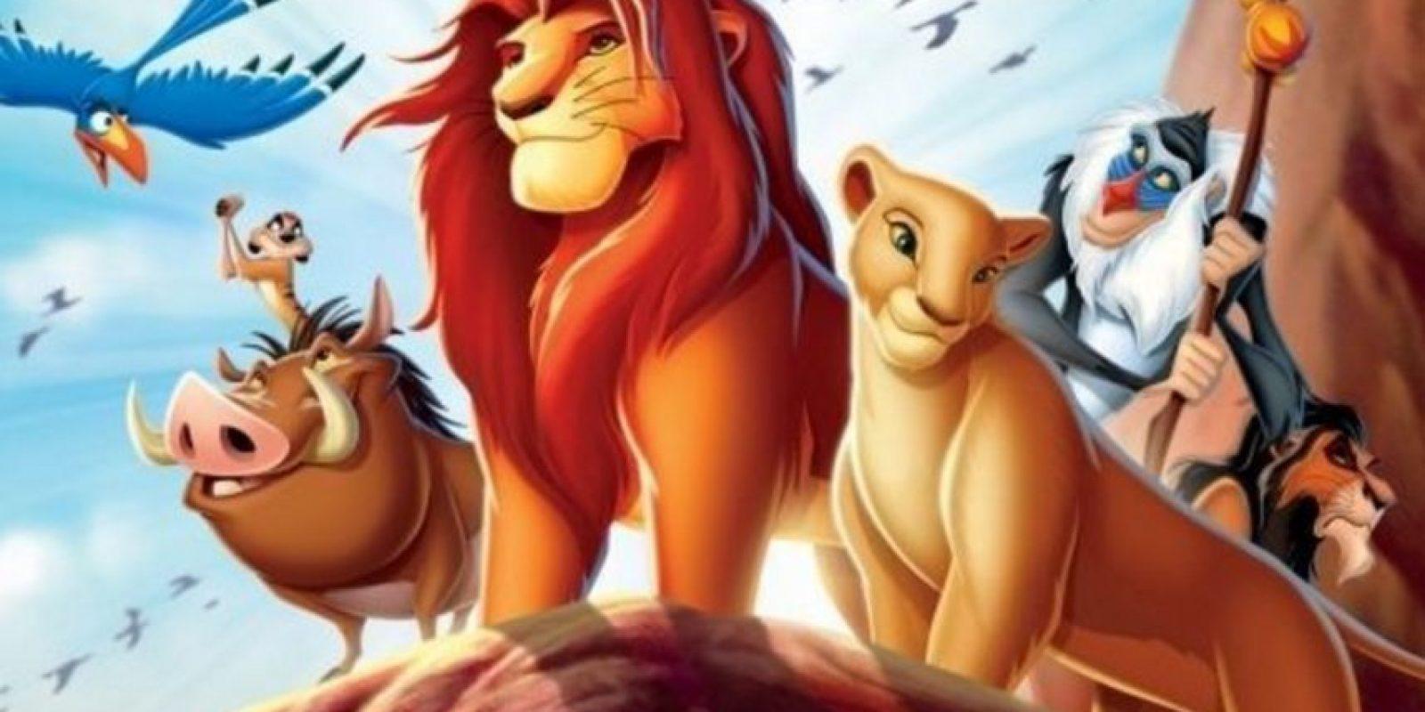 Disney Foto:Preparan nueva versión de El rey león