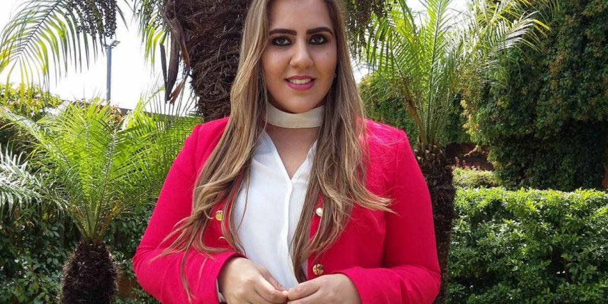 La arpista Andrea Gándara quiere poner el nombre de Guatemala en alto