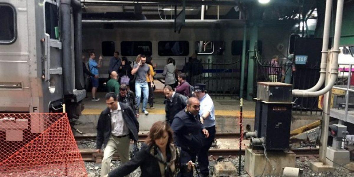 EN IMÁGENES: Así fue el choque de tren que dejó 100 heridos en Nueva Jersey