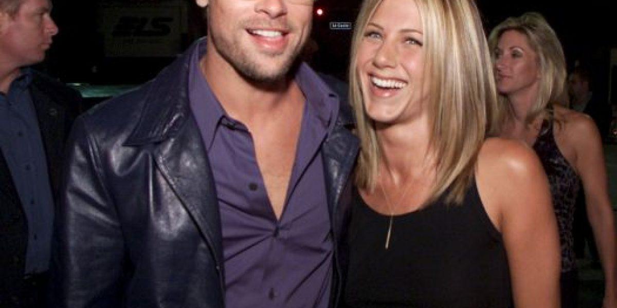 Antes del divorcio: Brad Pitt se encontró en secreto con Jennifer Aniston