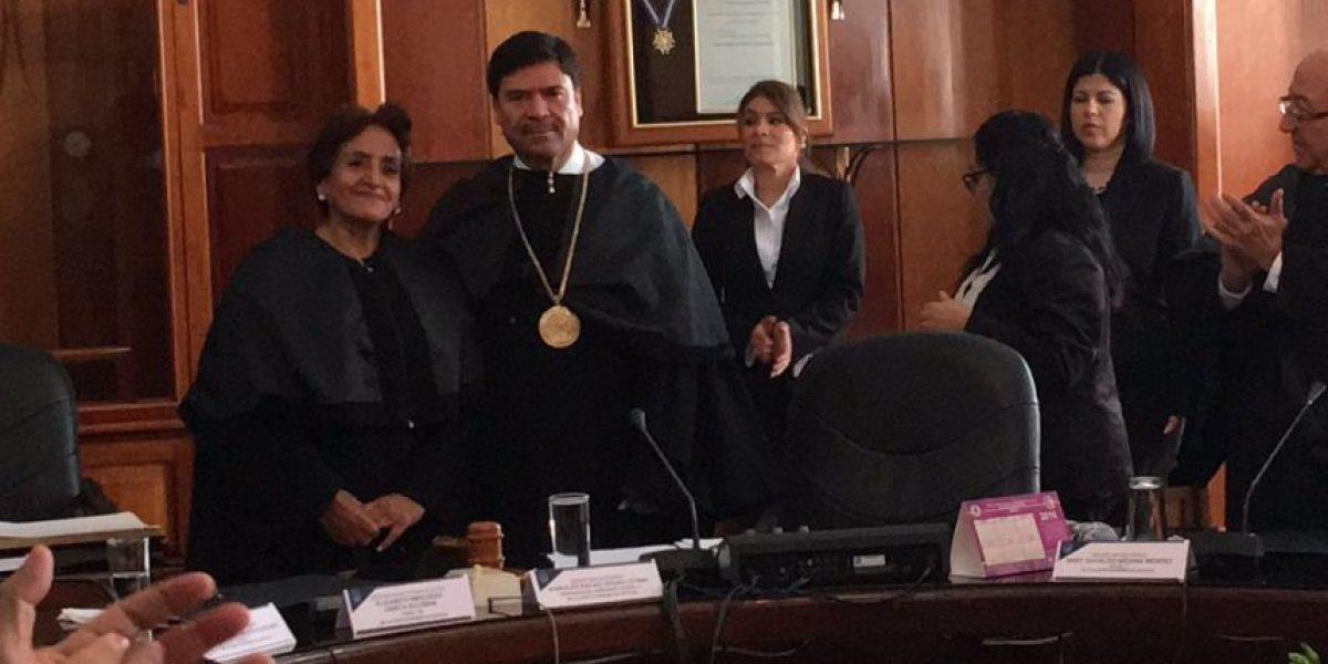 Elizabeth García toma posesión como nueva magistrada de la CSJ
