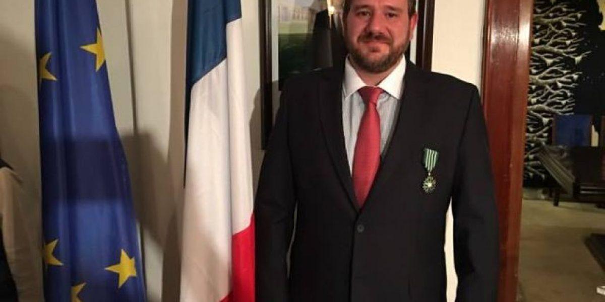 Philippe Hunziker, de SOPHOS, es nombrado Caballero por el Ministerio de Cultura francés