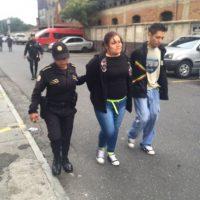 Magda Asunción Rodas García, de 21 (líder de la banda) Foto:PNC
