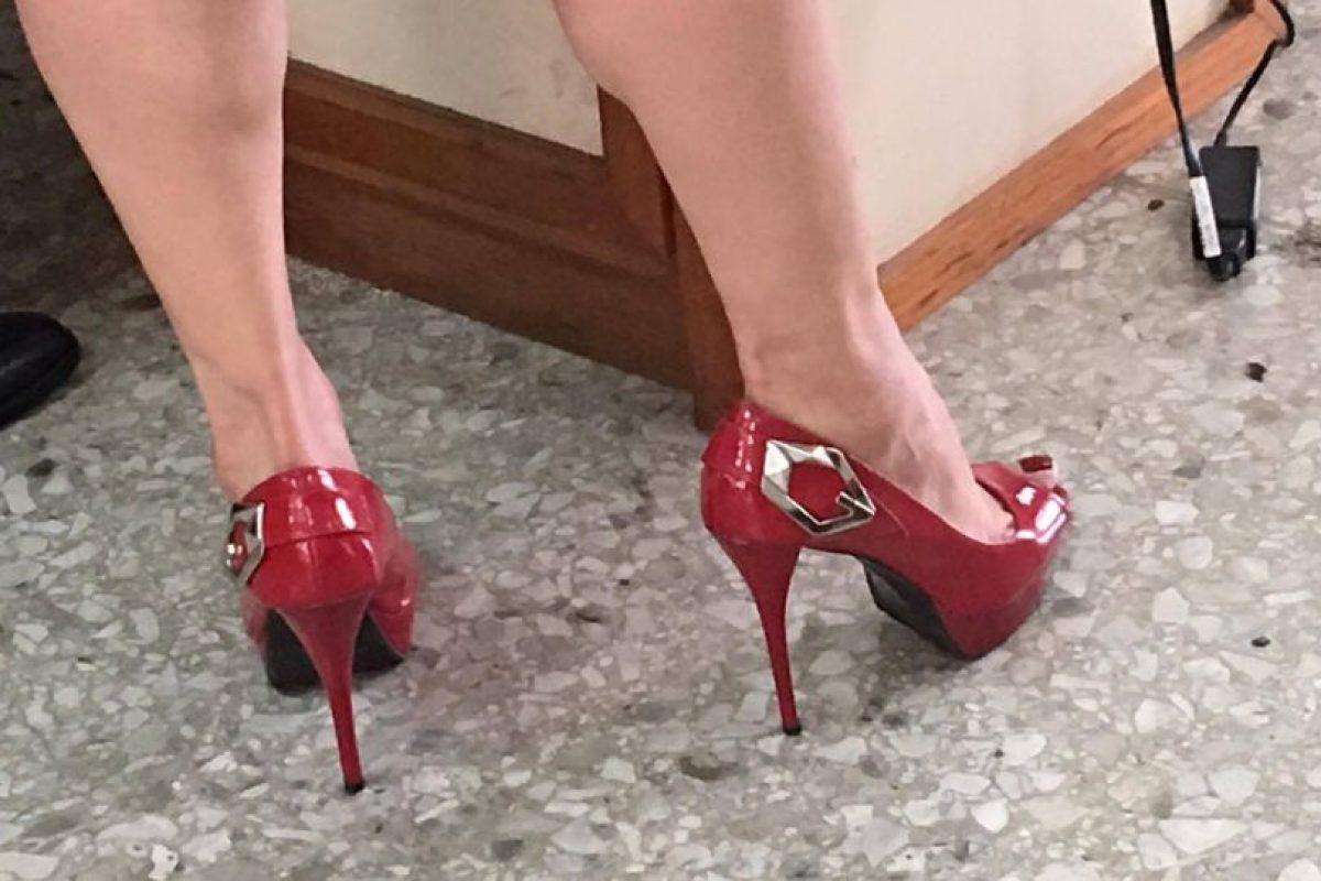 El calzado elegante. Foto:Kenneth Monzón