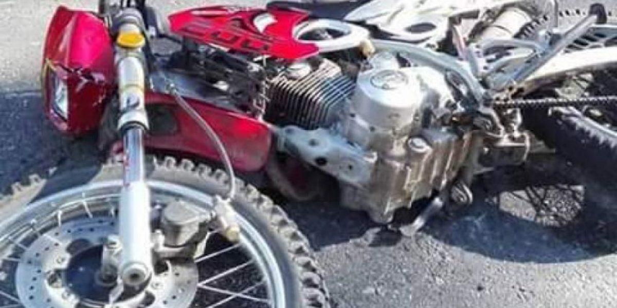 Perturbadoras imágenes de motorista fallecido en aparatoso accidente