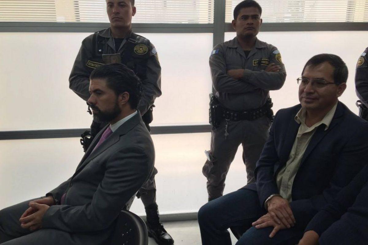 """Jhonatan Chévez, """"el Mago"""" y Elmer López, extitular del MAGA. Foto:Publinews"""