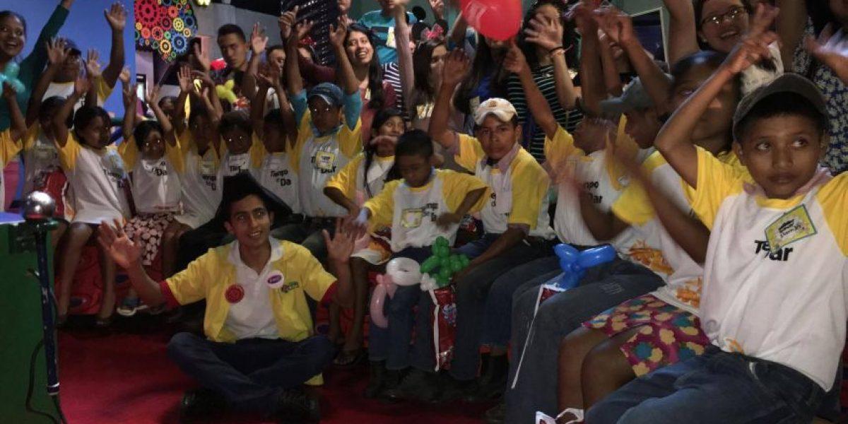ONG festeja a pequeños de Shalaguá, Camotán, por el Día del Niño