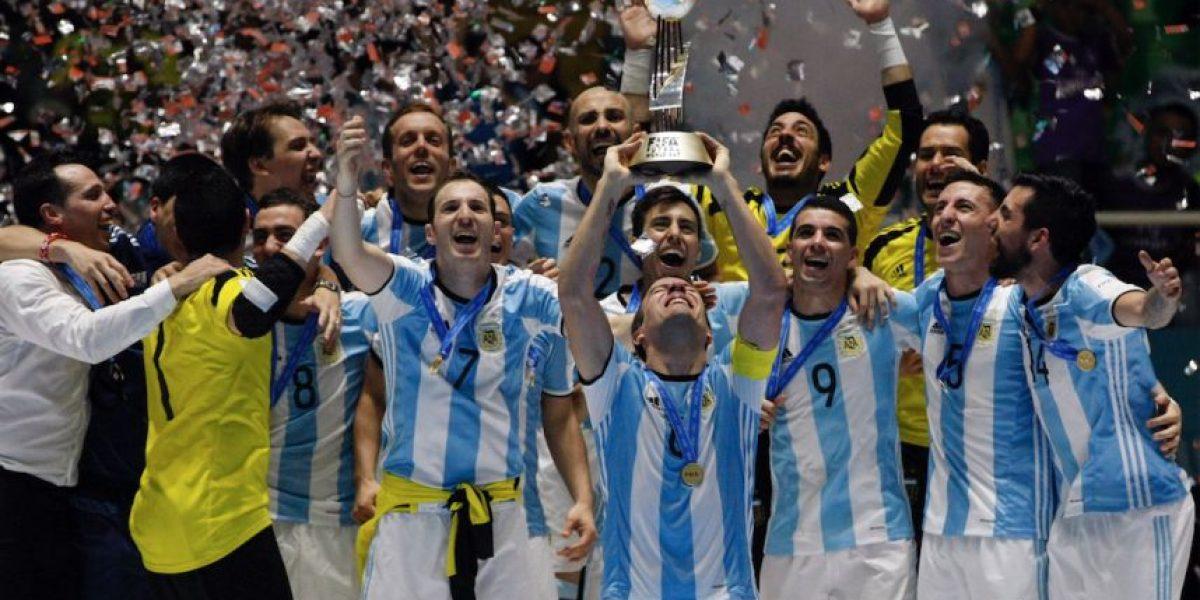 Argentina campeón inédito del Mundial de Futsal