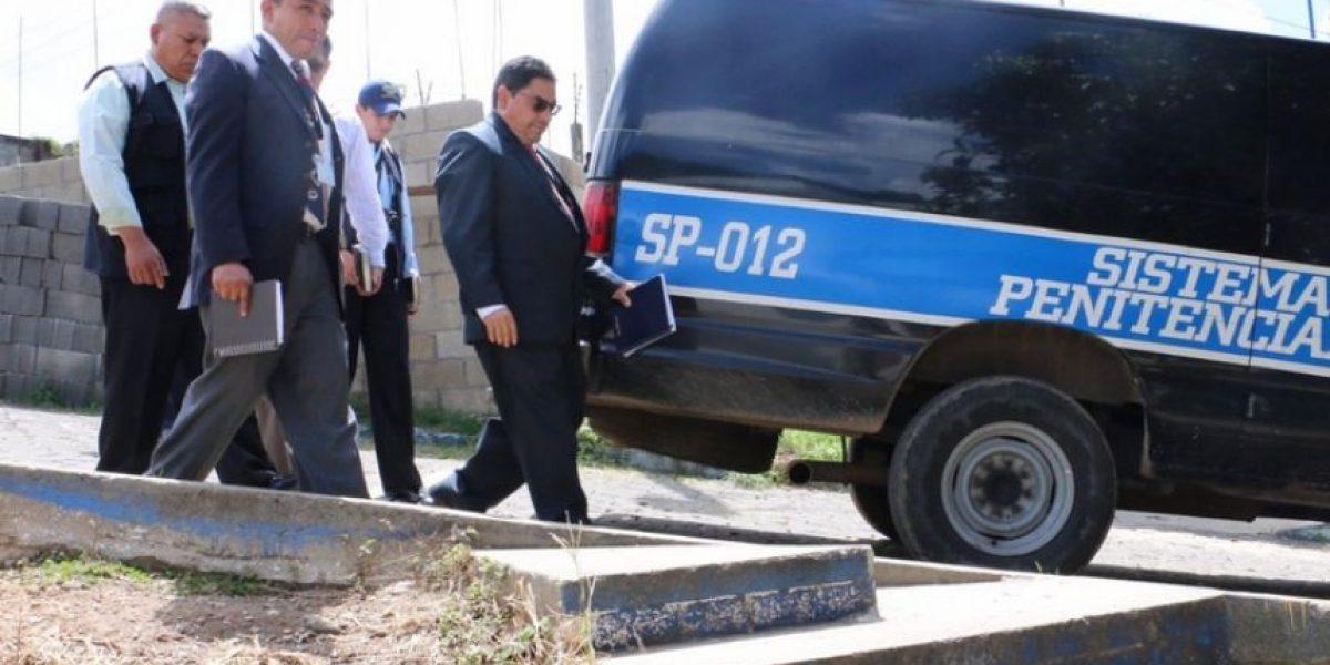 Nuevos controles en la cárcel donde está Otto Pérez incomodan a reos