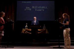 Paramount Foto:Cady Heron se enfrenta a una nerd en un concurso de matemáticas