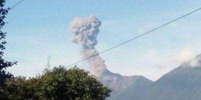 Se mantienen recomendaciones de prevención por actividad volcánica