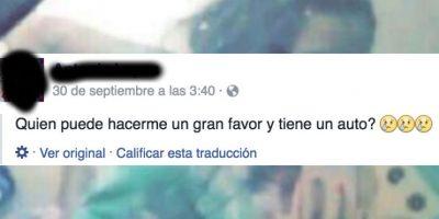 Jovencita postea en Facebook antes de matar a su recién nacida