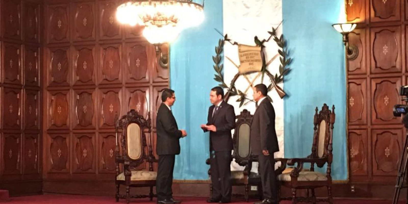 Oscar René Hernández Guerra, embajador de El Salvador Foto:Amílcar Ávila