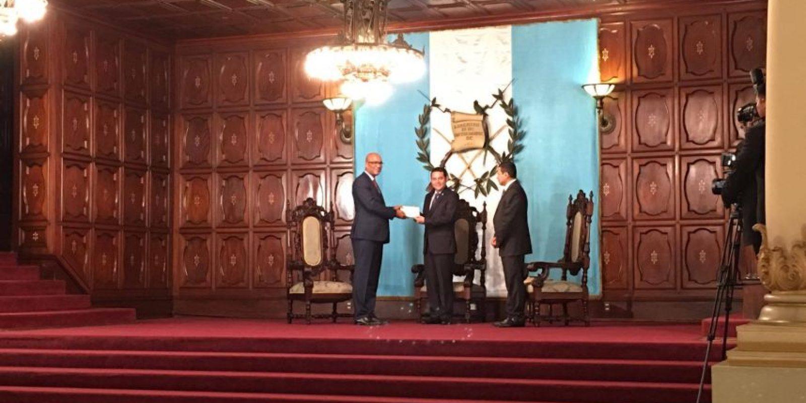 Embajador Peter Derrek Hof del Reino de los Países Bajos Foto:Amílcar Ávila