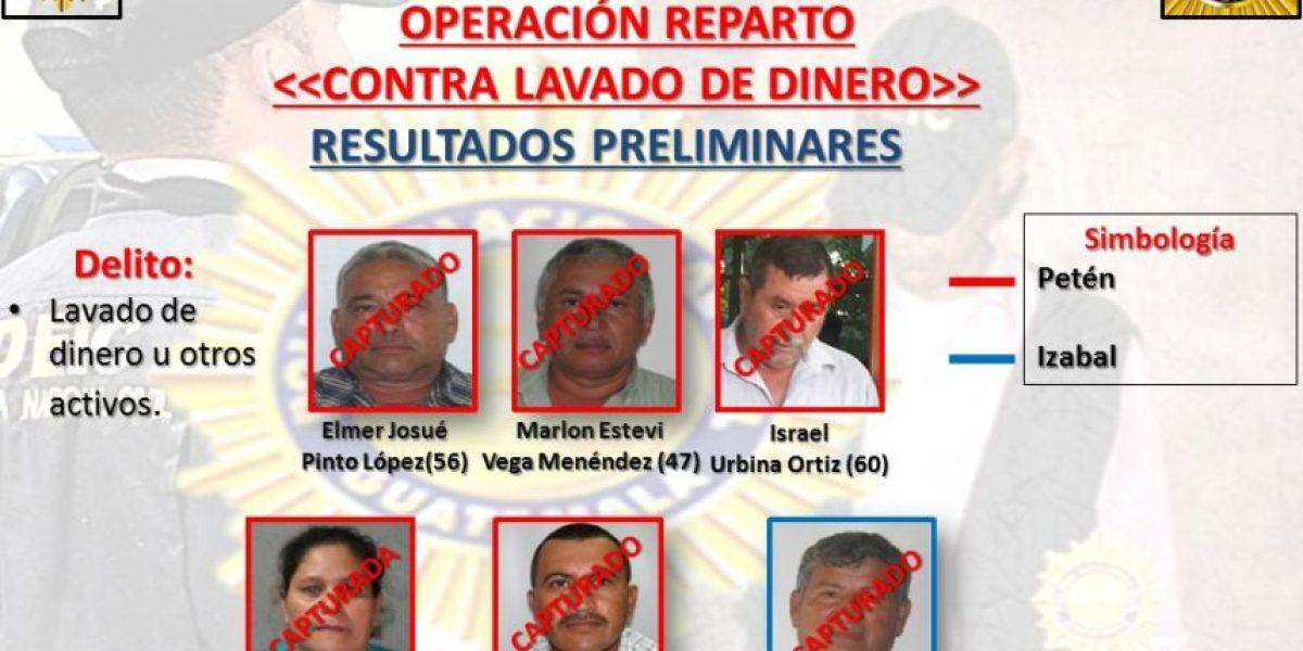 En #OperaciónReparto capturan a integrantes de estructura que lavó millones de quetzales