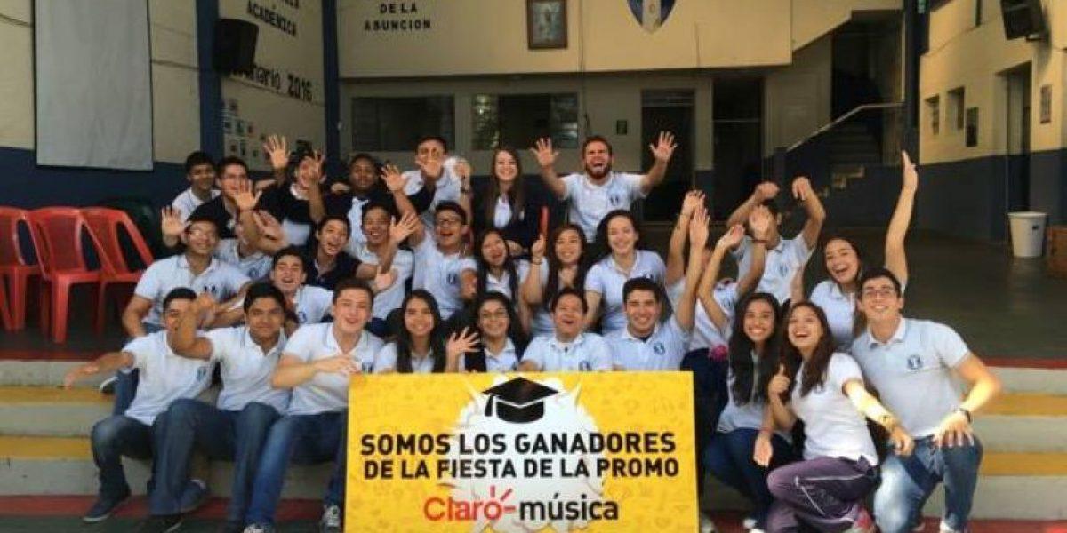 Estos graduandos ganaron y celebrarán su fiesta con Claro Música