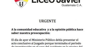 Foto:Liceo Javier