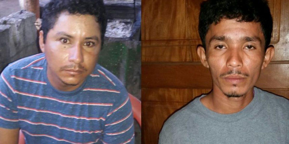 Los capturan por el asesinato de madre e hija en Sipacate, Escuintla
