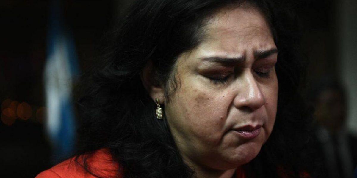 Los gestos de la jueza Jisela Reinoso al escuchar condena a 11 años de prisión