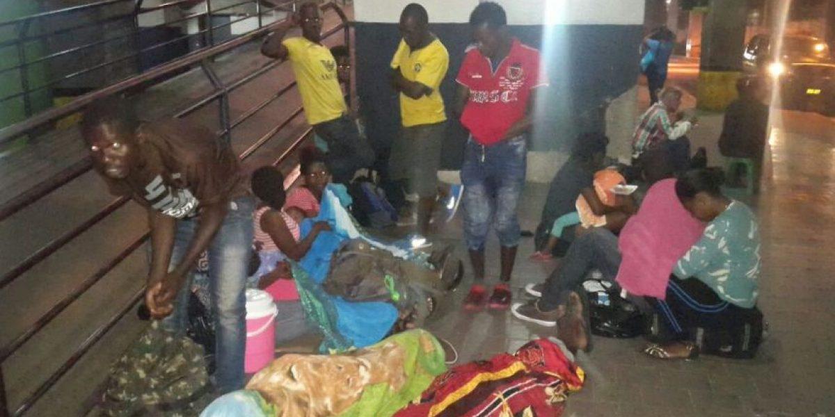 Migrantes cubanos y africanos son localizados en Centra Sur