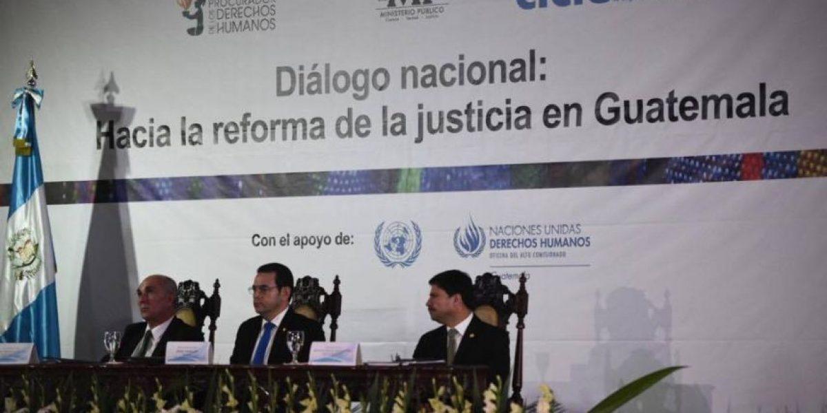 Organismos Ejecutivo, Legislativo y Judicial presentan propuesta de reforma constitucional