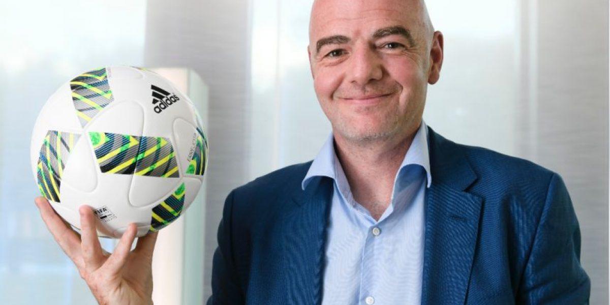 Gianni Infantino propone un Mundial con 48 equipos