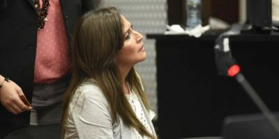 Caso Cooptación: Vivian Urizar, con orden de captura, se entrega pero luego se retira del juzgado