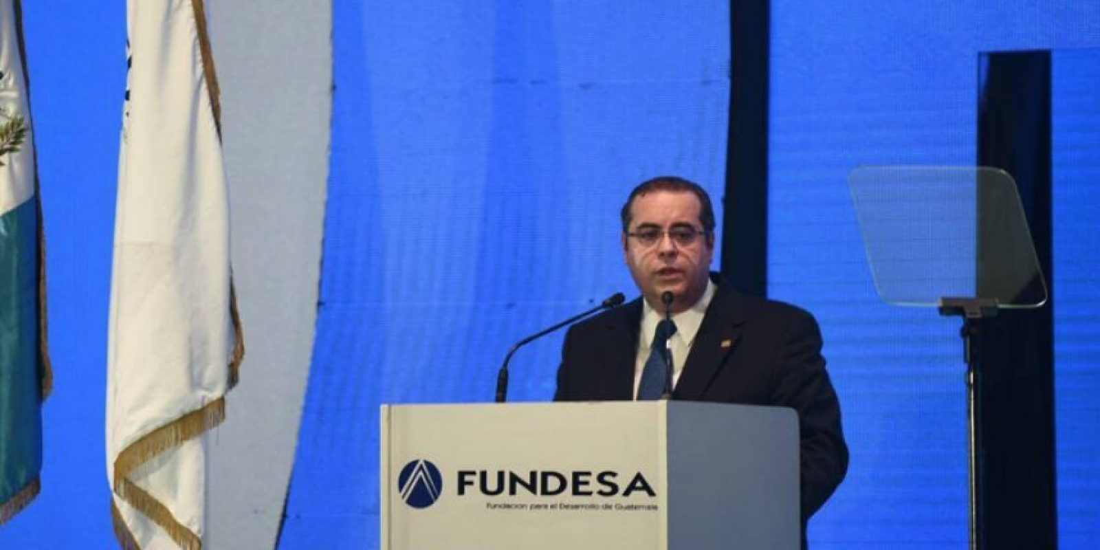 José González-Campo, presidente del Cacif Foto:Oliver de Ros