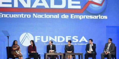 Los ministros de gobierno también asisten al Enade Foto:Oliver de Ros