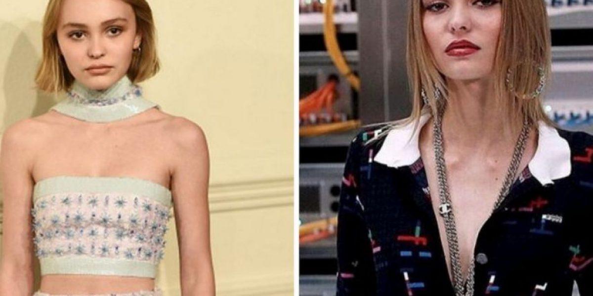 La impactante transformación de la hija de Johnny Depp en un año
