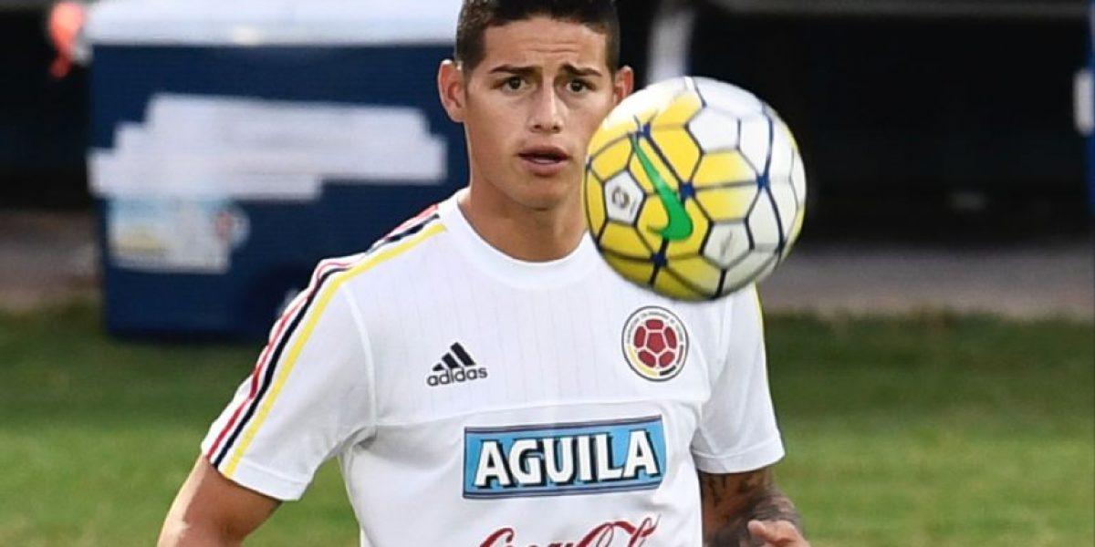 Lesión le impide a James Rodríguez participar en juego crucial