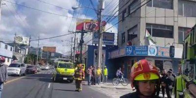 Incendio en la zona 10 deja pérdidas materiales, pero no humanas