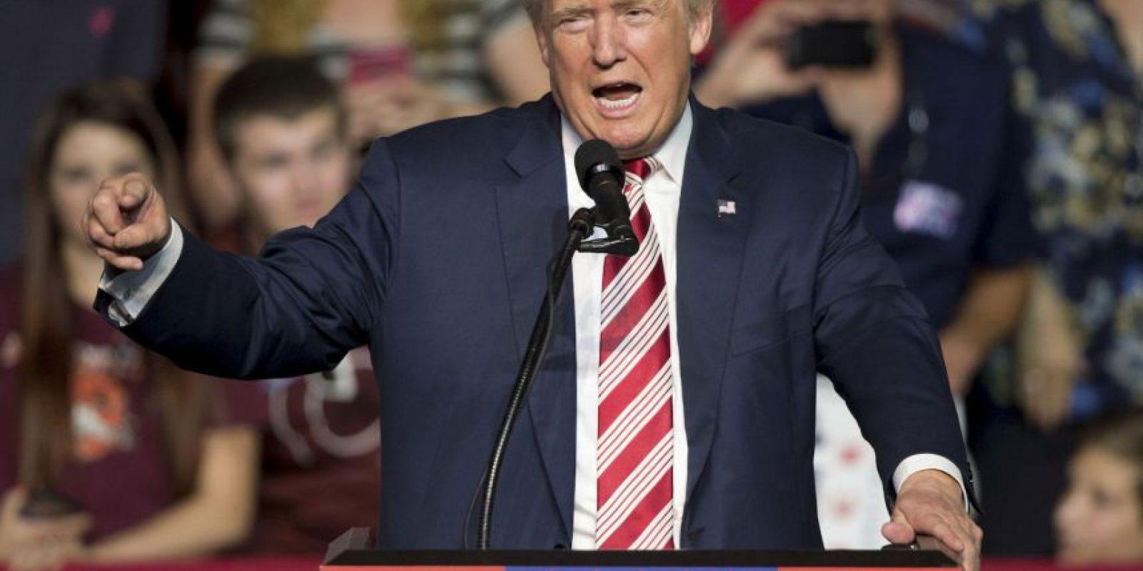 AP Foto:Donald Trump ha estado entre la espada y la pared por sus comentarios