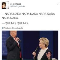 Twitter.com Foto:Trump y Hillary en un dueto