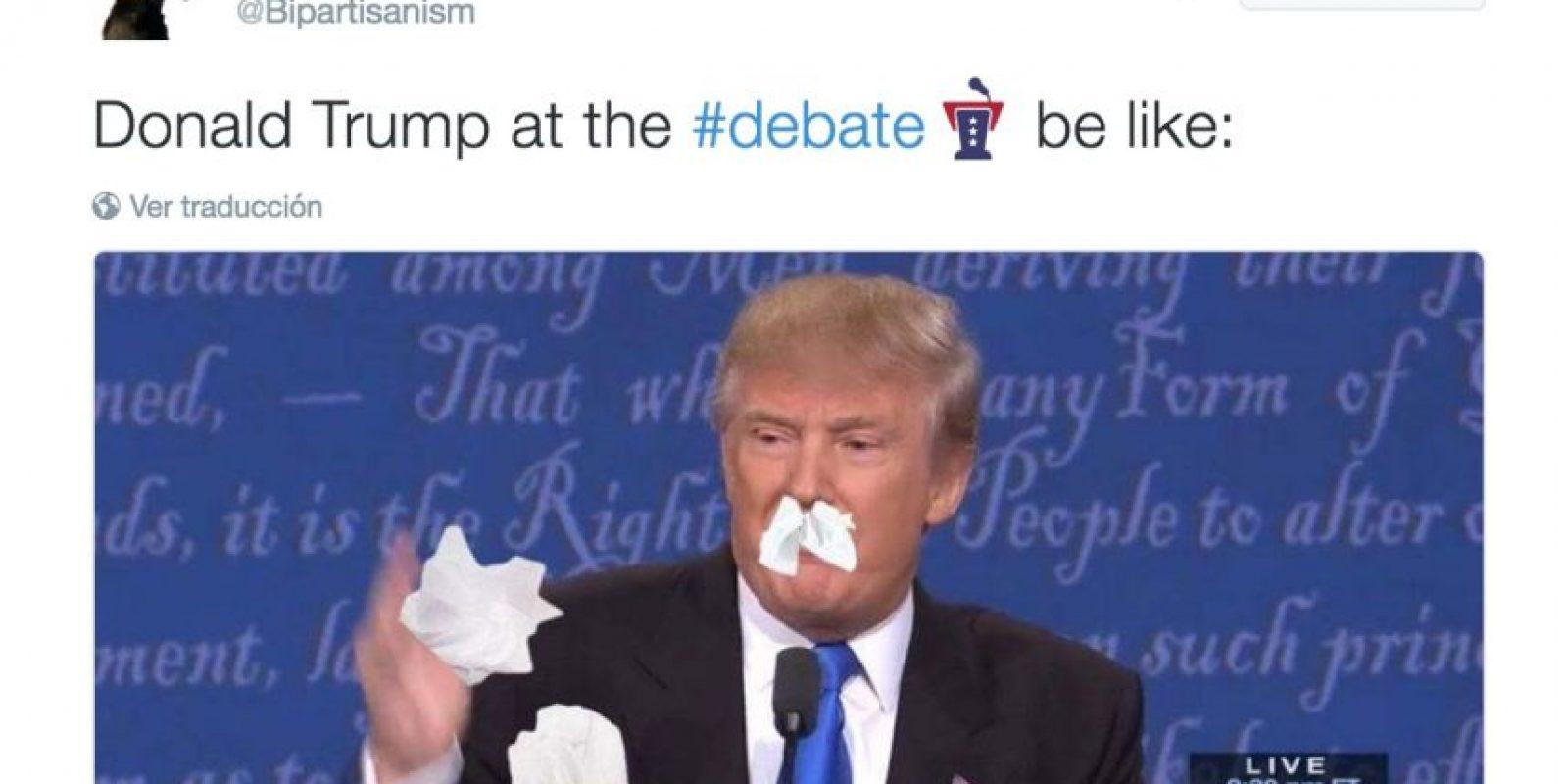 """Twitter.com Foto:Se burlaron del """"moqueo"""" de Donald Trump"""