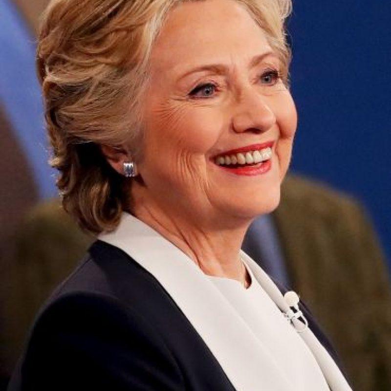 Getty Images Foto:De acuerdo a CNN, Hillary Clinton ganó el debate presidencial