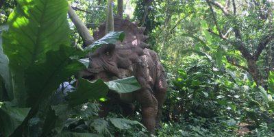 Un viaje a la prehistoria en el parque de diversiones Dino Park en Guatemala Foto:Wendy Morataya