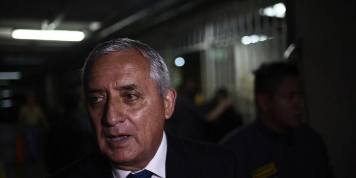 Pérez Molina insiste en que Fiscal General tiene que aclarar dudas en caso El Bodegón