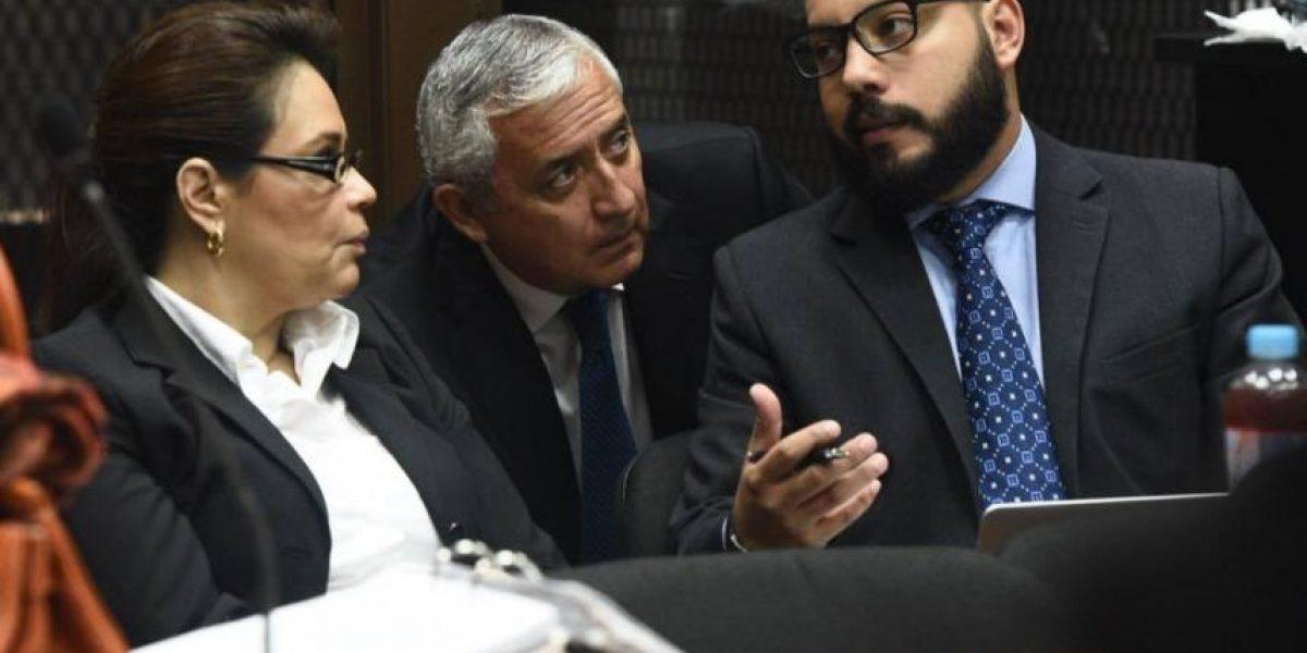 Caso La Línea: suspenden inicio de etapa intermedia por inasistencia de abogados de Otto Pérez