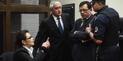 Expresidente Otto Pérez logró aplazar la audiencia intermedia del caso La Línea