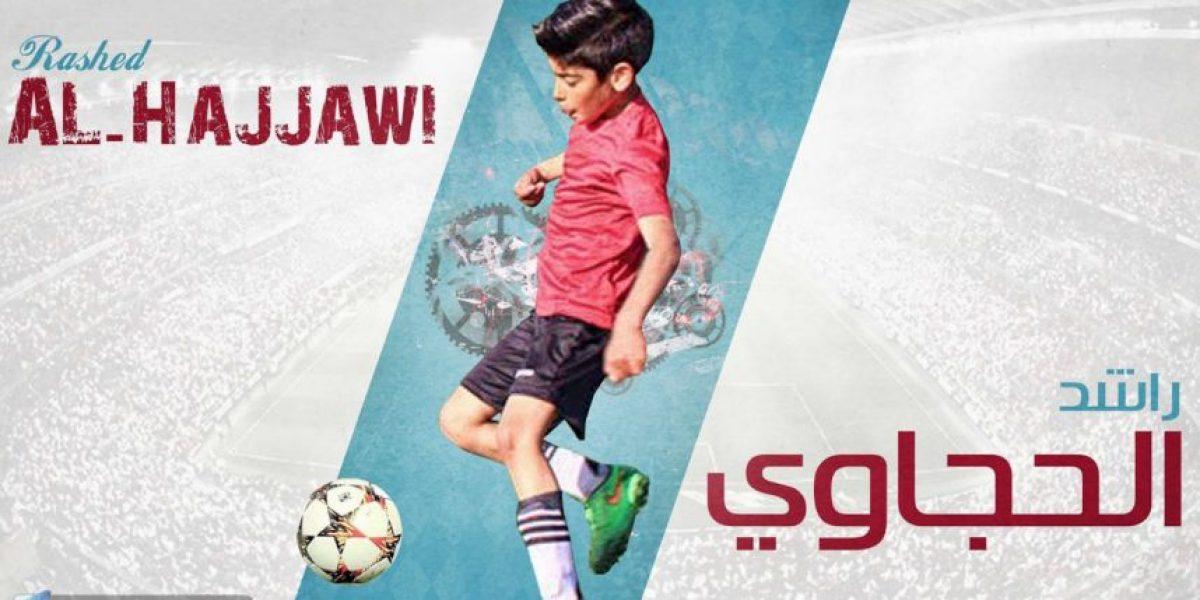 Juventus fichó a niño palestino de 10 años que brilla en Youtube