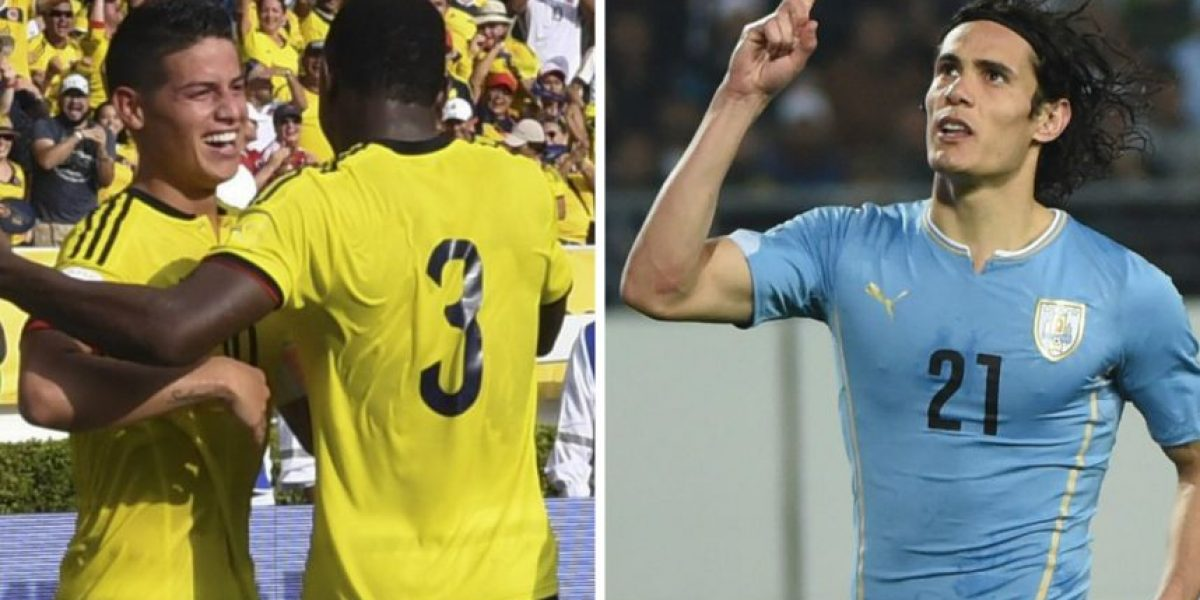 VIDEO. Colombia y Uruguay se preparan para el gran choque de eliminatorias