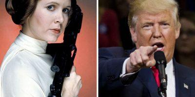 Actriz de Star Wars: Estornudos de Donald Trump son por consumo de cocaína