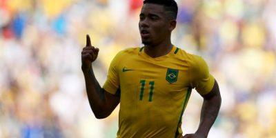 Getty Images Foto:6.-Gabriel Jesus – 19 años (Palmeiras-se unirá a Manchester City en enero)