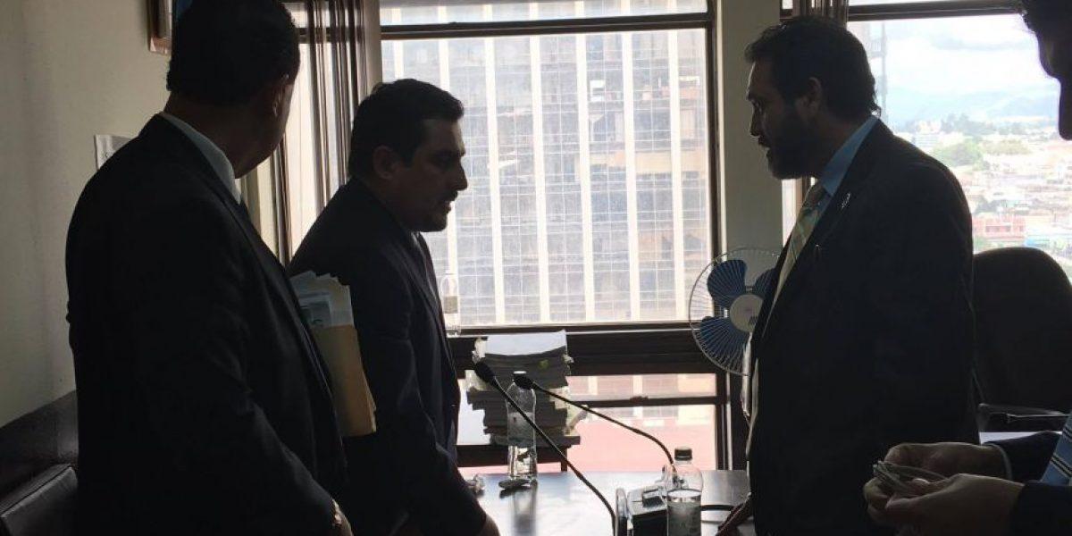 ¿Gudy Rivera discute con sindicado en juicio por tráfico de influencias?