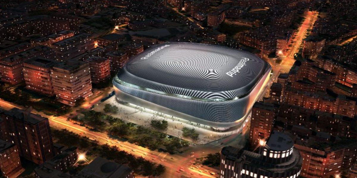 Florentino Pérez ofrece un Santiago Bernabéu espectacular